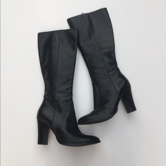 f50689c07 Lauren Ralph Lauren Shoes - Lauren Ralph Lauren Black Leather High Heel  Boots